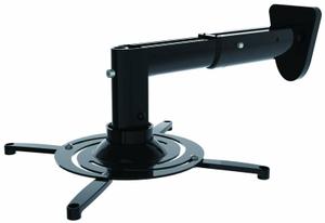 Кронштейн для проектора Cactus CS-VM-PR05B-BK черный макс.10кг настенный и потолочный поворот и наклон