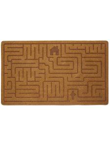 Коврик придверный Labyrinth коричневый Balvi