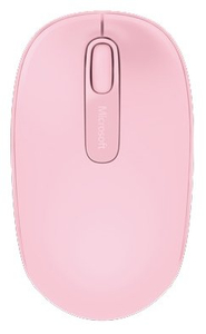 Мышь беспроводная Microsoft Mobile Mouse 1850 розовый