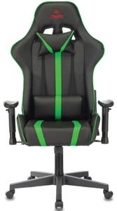 Кресло игровое Бюрократ Zombie A4 зеленый