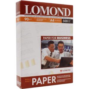 LOMOND 0102131 (A4, 500 листов, 90 г / м2) бумага матовая односторонняя
