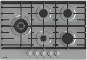 Газовая варочная панель Gorenje GW751X серый