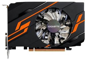 Видеокарта 2Gb <PCI-E> GDDR5 GIGABYTE GV-N1030OC-2GI (RTL) DVI+HDMI <GeForce GT1030>