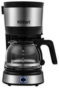 Кофеварка капельная Kitfort КТ-730 черный