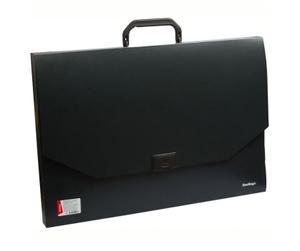 """Папка-портфель  1 отделение Berlingo """"Standard"""" А3, 900мкм, черная"""