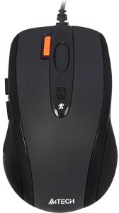 Мышь проводная A4Tech V-Track N-70FX-1 черный