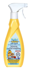 Средство для уборки безопасное 480мл Babyline