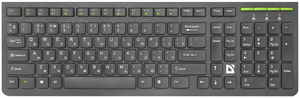 Клавиатура беспроводная Defender UltraMate SM-536 черный