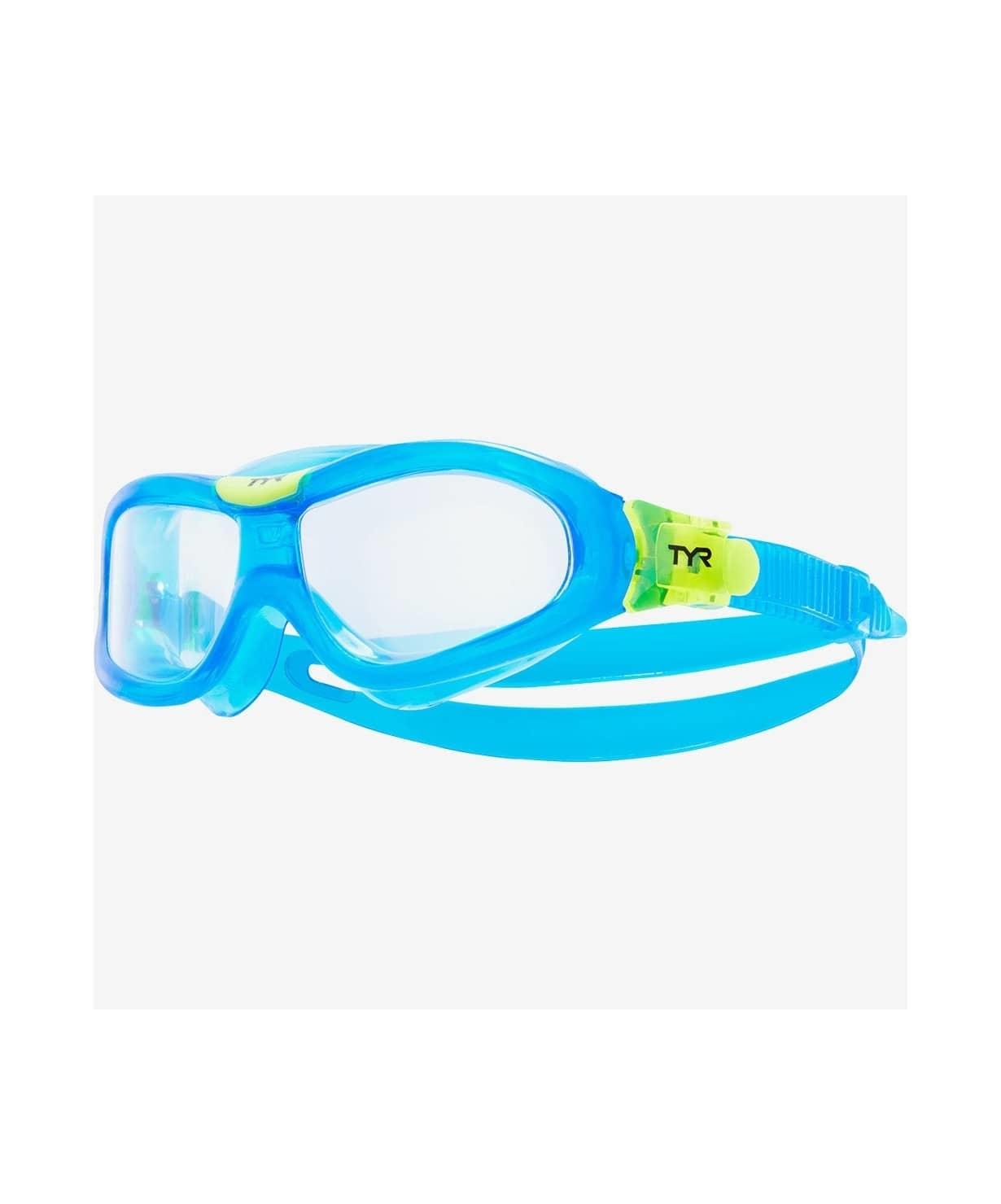 Маска для плавания Orion Swim Mask Kids, LGORNK/105, голубой