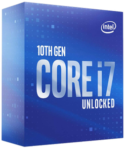Процессор Intel Core i7-10700KF (без кулера) BOX