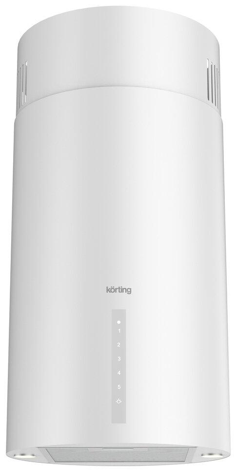 Вытяжка Korting KHA 39970 W Cylinder белый