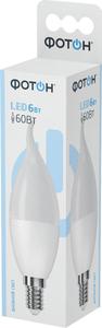 Лампа светодиодная ФОТОН LED BXS35 6W E14 6500K