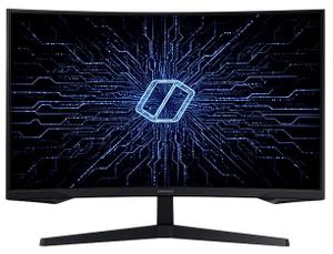 """Монитор Samsung Gaming [C32G54TQWI] 31,5"""" черный"""