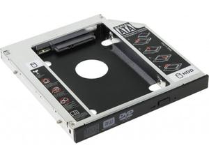 """Шасси для 2.5"""" SATA HDD для установки в SATA отсек оптического привода ноутбука 12мм"""