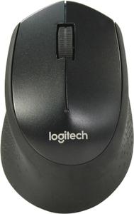 Мышь беспроводная Logitech M330 Silent Plus черный
