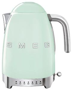 Чайник электрический SMEG KLF04PGEU мятный