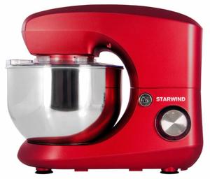 Миксер стационарный StarWind SPM5184 красный
