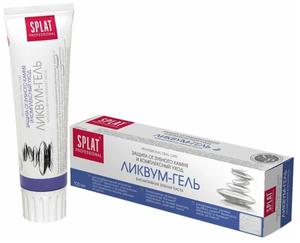 Зубная паста Ликвиум-гель 100мл Prof Splat