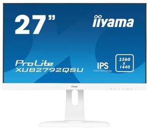 """Монитор Iiyama [XUB2792QSU-W1] 27"""" белый"""