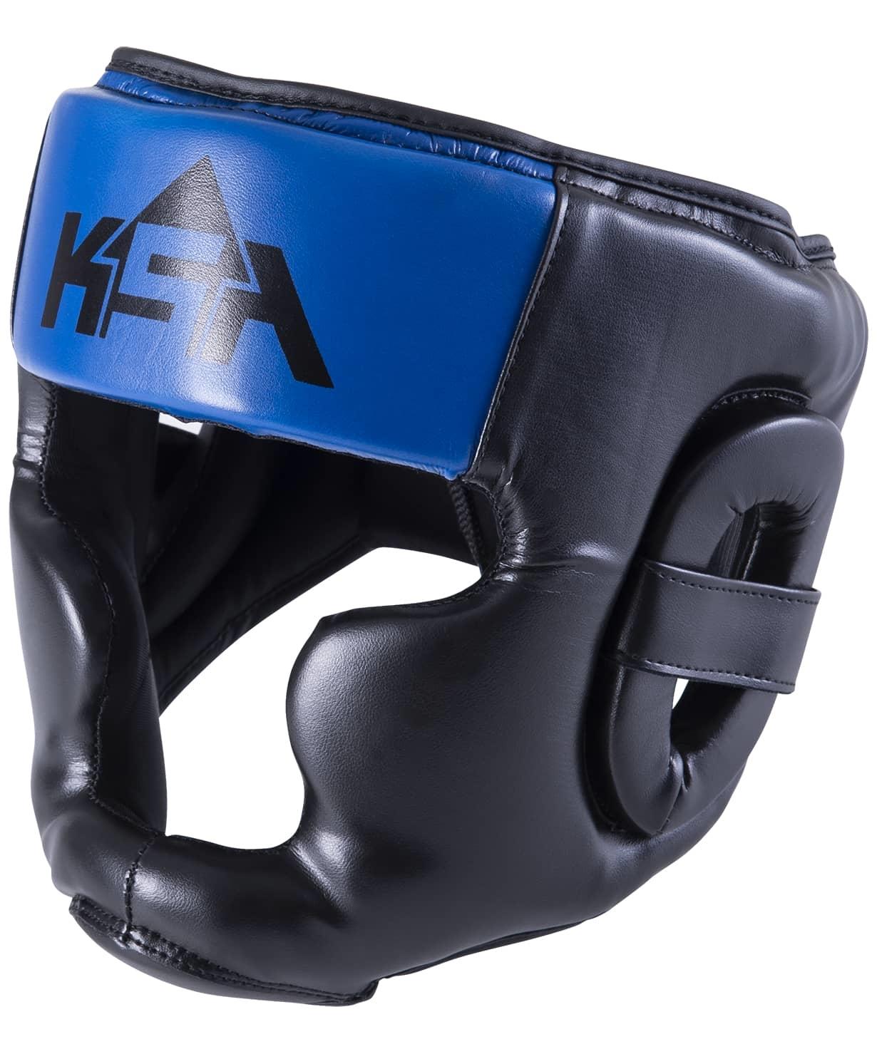 Шлем закрытый Skull Blue, M