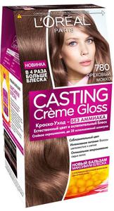 Краска-уход для волос Casting Creme Gloss 780 Ореховый мокко L'Oreal Paris