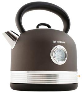 Чайник электрический Kitfort КТ-634-1 черный