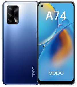 Смартфон OPPO A74 128 Гб синий