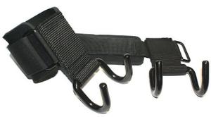 Зацепы для турников/тяги. Материал: металл, полиамид, текстиль. WS3305