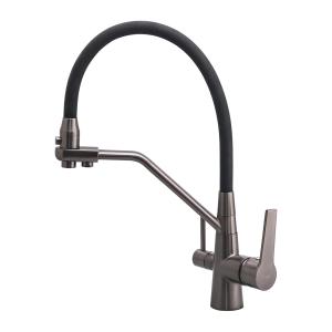 Смеситель для кухни с гибким изливом FRAP F4374-15