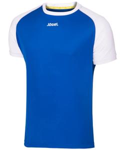 Футболка футбольная JFT-1011-071, синий/белый, детская