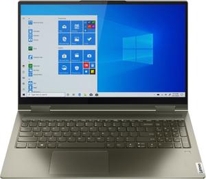 Ноутбук-трансформер Lenovo Yoga 7 15ITL5 (82BJ005SRU) зеленый