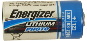 Батарейка Energizer CR123 628290 (1 шт)