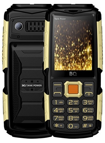Сотовый телефон BQ 2430 Tank Power черный