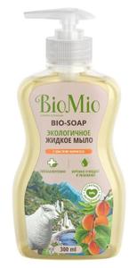 Жидкое мыло с маслом абрикоса 300мл BioMio