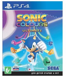 Игра для PlayStation 4 Sonic Colours: Ultimate