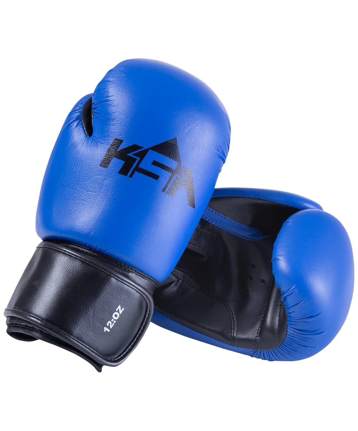 Перчатки боксерские Spider Blue, к/з, 14 oz