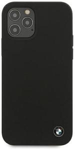 Чехол накладка BMW для Apple iPhone 12 Pro Max черный