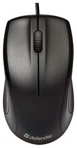 Мышь проводная Defender Optimum MB-150 черный