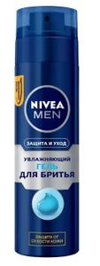"""Гель для бритья увлажняющий """"Защита и Уход"""" 200мл Nivea"""