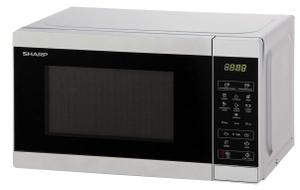 Микроволновая печь Sharp R2800RSL серебристый