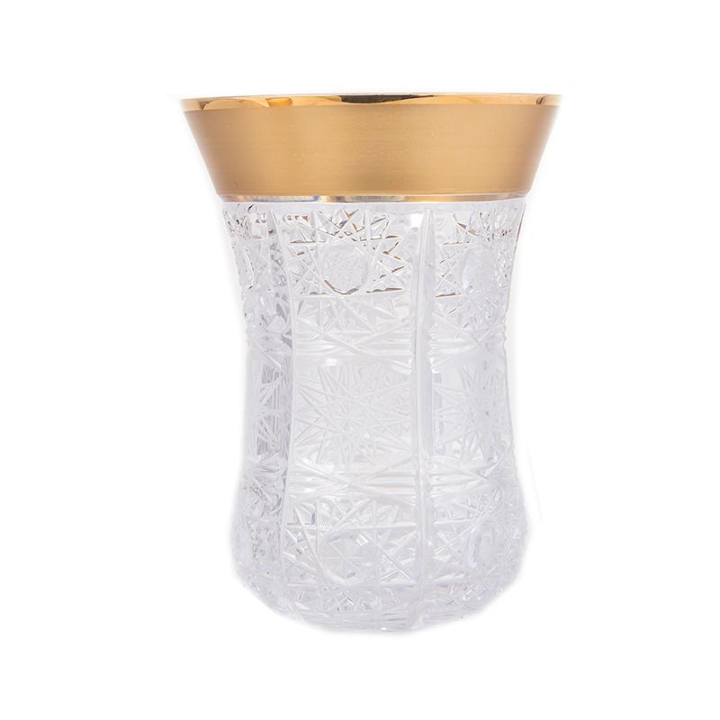 """Набор для чая 170мл.6шт.""""Снежинка с золотом 22087"""""""