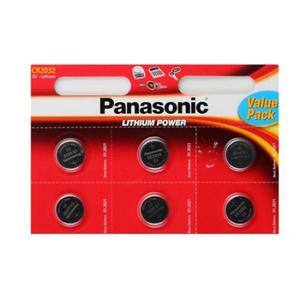 Батарейка Panasonic Power Cells CR2032 B6