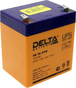 Аккумулятор Delta HR 12-21W (12V, 5Ah) для UPS