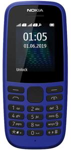 Сотовый телефон Nokia 105 синий
