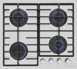 Газовая варочная панель MAUNFELD EGHG.64.6CW/G белый