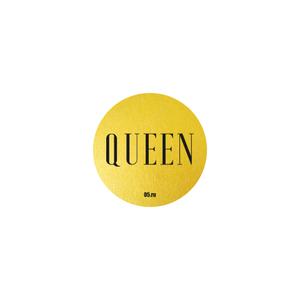 Стикер Queen золото