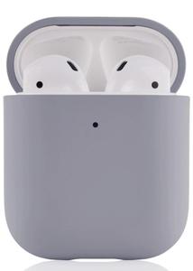 Чехол защитный «vlp» Plastic Case для AirPods, серый