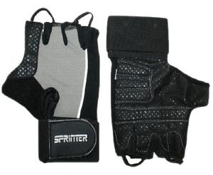 Перчатки для тяжёлой атлетики с напульсником Размер XXL. :(A): 16953