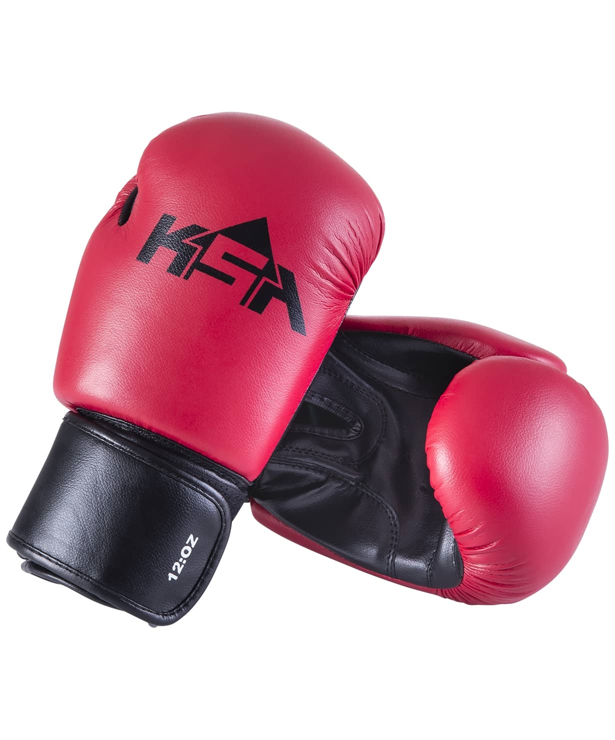Перчатки боксерские Spider Red, к/з, 12 oz