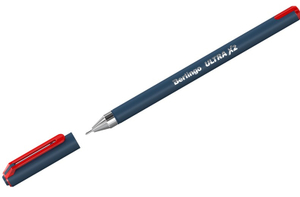 """Ручка шариковая Berlingo """"Ultra X2"""", красная, 0,7, игольчатый стержень"""